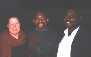Christine Mason, David Moody, and Yaw Osei-Amo (sightseeing in Adelaide)
