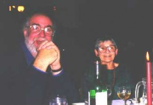 Gavin Kitching and Cherry Gertzel (at the Conference Dinner)