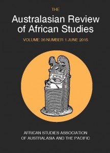 ARAS Journal front Cover June 2015