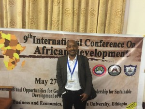 Zafu Teferi at 9th ICAD Ethiopia